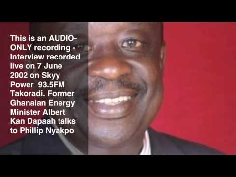 Albert Kan-Dapaah talks to Phillip Nyakpo