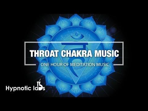 Throat Chakra Healing Meditation Music (One Hour)