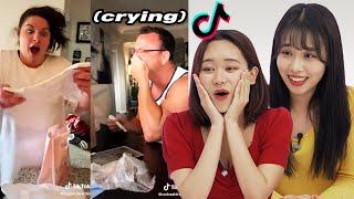 Korean Girls React To Pregnancy Announcement TikToks!