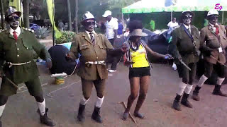 Zangalewa Dancers Choreography dancing to Dirtsman Hot Dis Year
