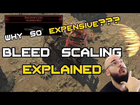 How does Bleed work? Bleed Scaling with Ryslatha's Coil Explained PoE 3.10 Delirium