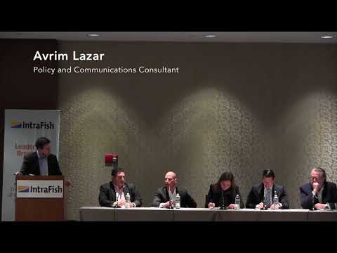 Sustainable Shrimp Partnership panel discussion at IntraFish Leadership Breakfast in Boston
