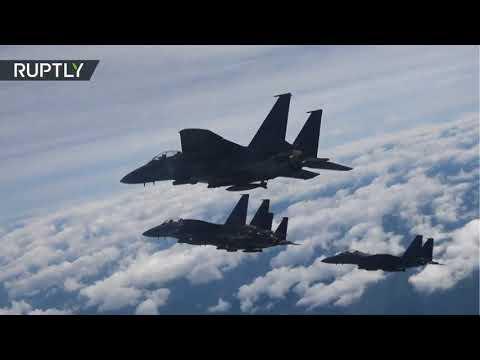 Demostración de fuerza de Corea del Sur tras lanzamiento de misil norcoreano