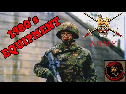 British Army Equipment in The 1980's
