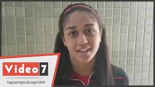 لاعبة الخماسى الحديث: أحلم بالميدالية الأولمبية