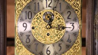 Herschede Vintage Grandfather Or Tall Case Clock, Westminster Tubular Chime U-18660