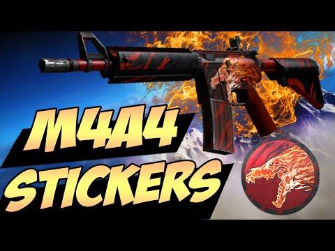 CS:GO - Best Sticker Combinations: M4A4