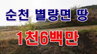 [부동산 경매물건] 전남 순천 별량면 학산리 땅! 주말…