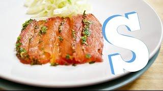 Salmon Beetroot Gravadlax Recipe - Sorted