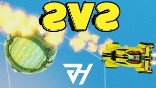 JHZER & Chausette45 | Rocket League Competitive 2v2 Gameplay