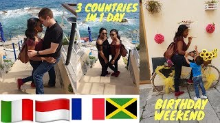 3 COUNTRIES IN 1 DAY | 30th BIRTHDAY WEEKEND | JAMAICAN GALS TAKE OVER