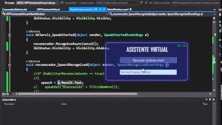 Crea tu Asistente Virtual en C# WPF Resumen y Tips