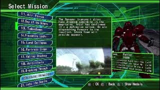 Earth Defense Force 4.1 Part 5 Wall Of Hectors