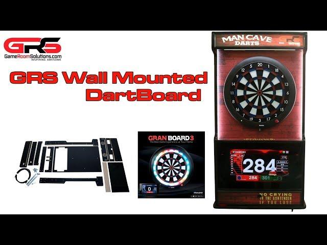 GRS Wall Mounted Dartboard and Jukebox