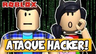 SOFREMOS UM ATAQUE DE HACKERS! 😱 - Roblox (The Roblox Plague)