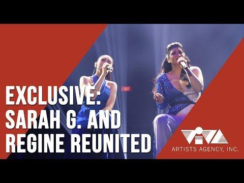EXCLUSIVE | SARAH G. AND REGINE REUNITED