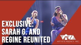 EXCLUSIVE | SARAH G. AND REGINE REUNITED