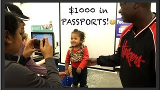 Passports ALLLL Around!