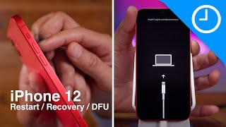 iPhone 12 & 12 Pro: h๐w to force restart, recovery mode, DFU mode, etc.