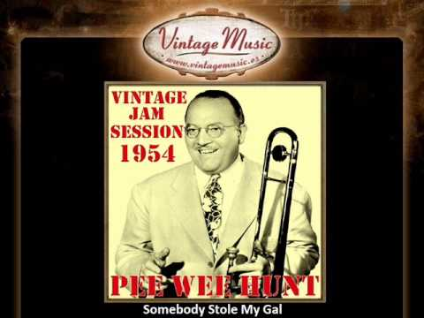 PEE WEE HUNT CD Vintage Jazz Swing Orchestra. Somebody Stole My Gal / Spain ...