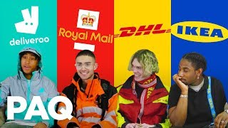 Hustling Uniforms Fits From Deliveroo, DHL Workers | PAQ Ep #3 | A Show About Streetwear