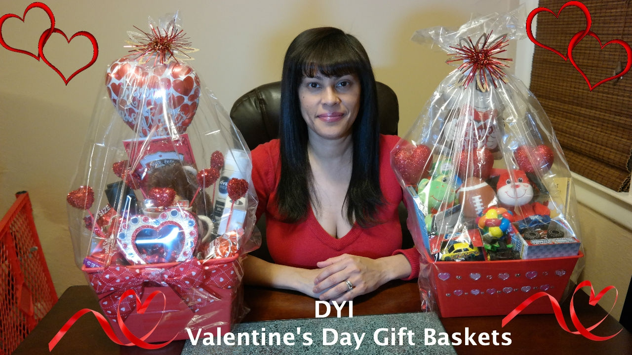 Valentine S Day Gift Baskets Diy Youtube
