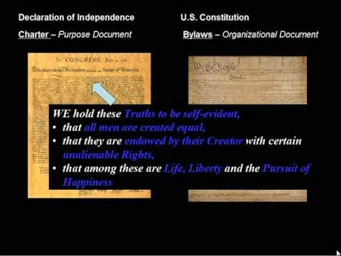 Understanding How the Declaration of Independence and Constitution Work Together