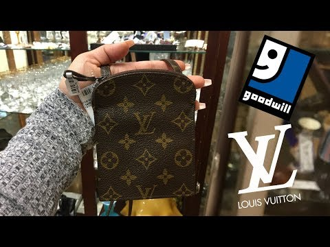 I Found a Louis Vuitton Bag at the Thrift Store !