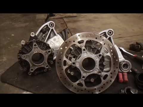 BMW R1200GS замена редуктора с GS на RT.
