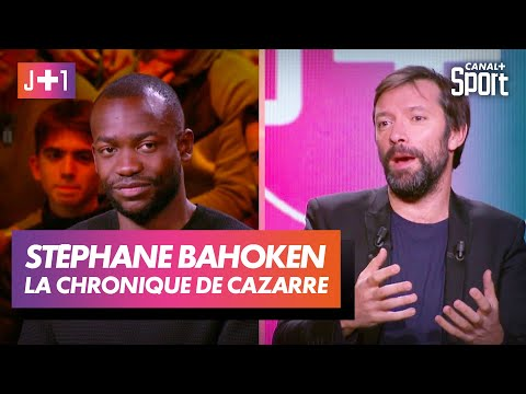 Julien Cazarre avec Stéphane Bahoken !
