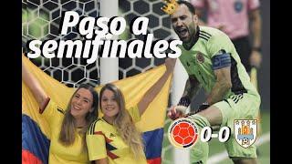 Reacción Colombia 0 Vs Uruguay 0 / Emotiva clasificación en penales