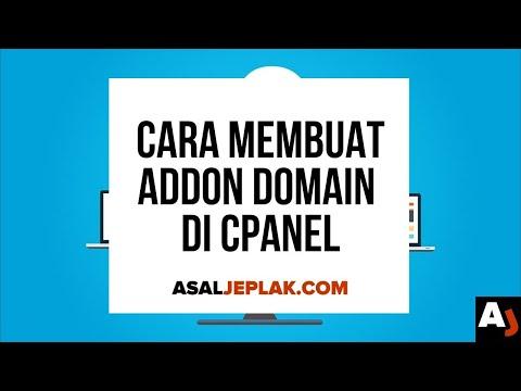 Cara Membuat Addon Domain di cPanel (Banyak domain 1 hosting)   Seri Belajar Web