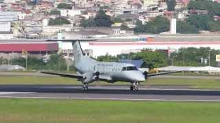 Embraer EMB 120 - Brasilia - FAB - Esquadrão Carajá