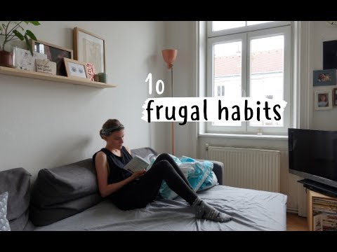 10 Frugal habits that rock!