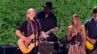 Willie Nelson & Lily Meola - Will You Remember Mine (Live at Farm Aid 2014)
