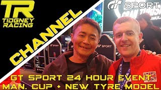 [GT Sport] - 24 Hour Event Vlog + NEW TYRE MODEL + Manufacturers Cup Analysis