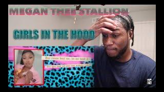 Megan Thee Stallion - Girls in the Hood [Lyric Video] (REACTION)
