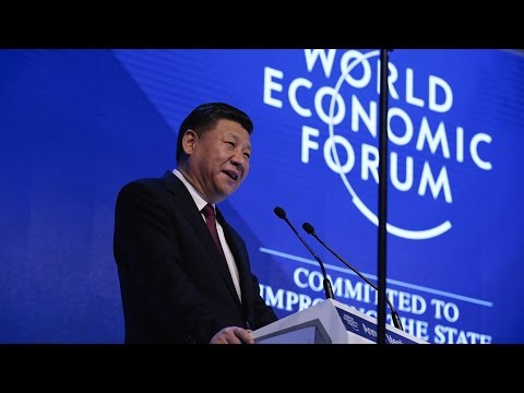 China's President Defends Globalization at World Economic Forum