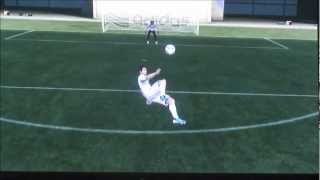 How to do a Bicycle Kick: Fifa 12