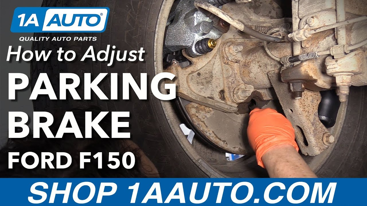 how to adjust parking brake 09 14 ford f 150 [ 1280 x 720 Pixel ]