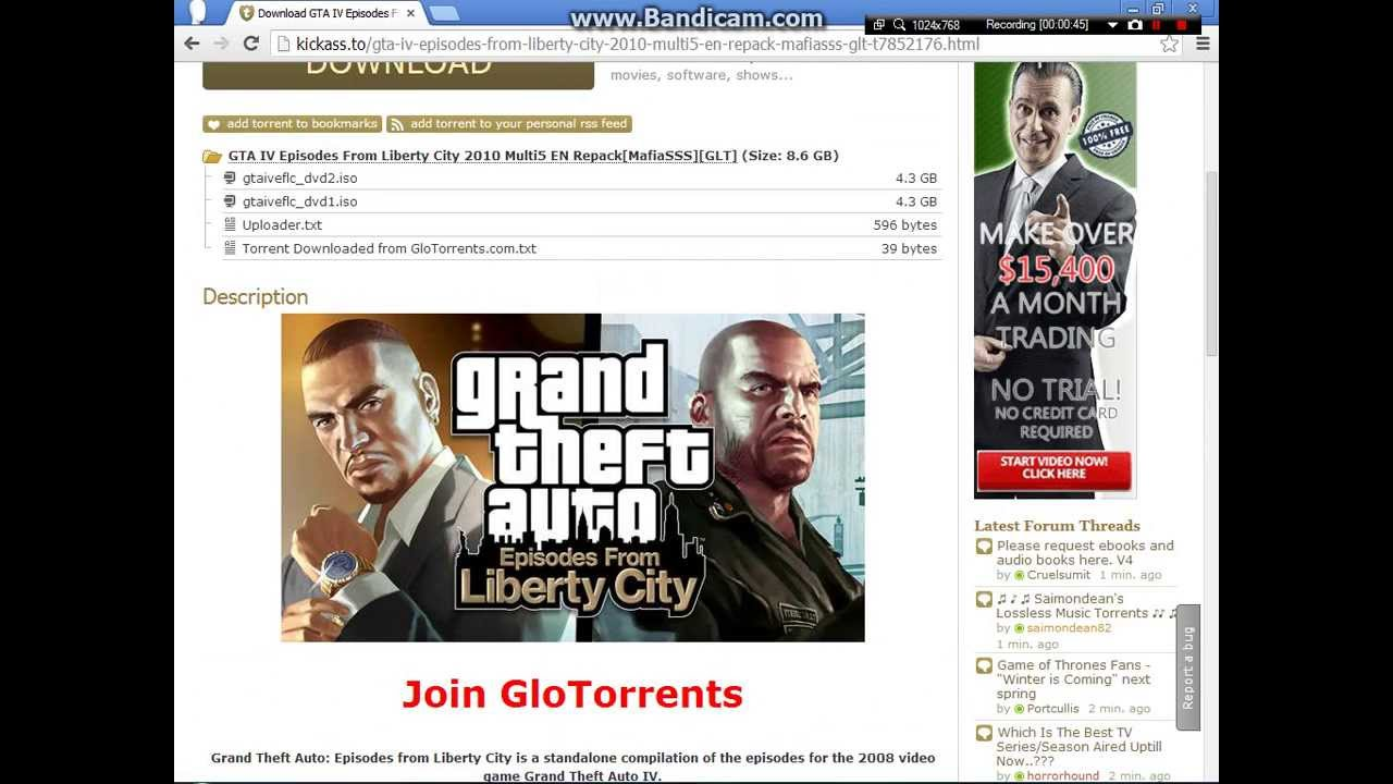 gta iv pc torrent download kickass