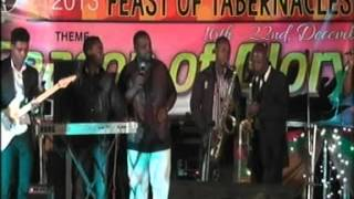 Buchi performing LIVE at the 2013 Feast of Tabernacle oragnised by RCCG Glory TabernacleAsokoro