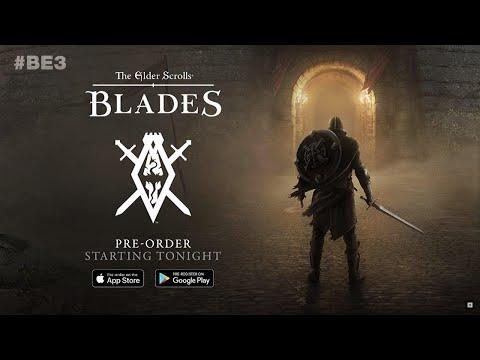 Мой стрим Tes Blades