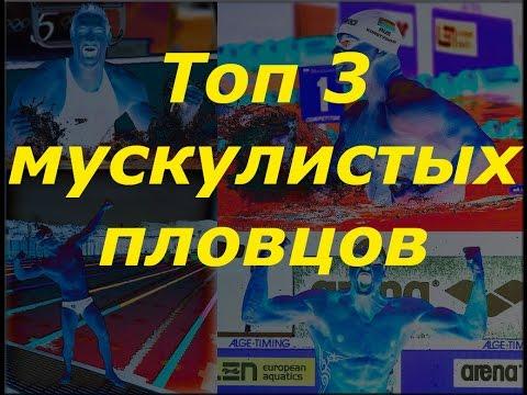 ТОП 3 МУСКУЛИСТЫХ ПЛОВЦА!!!