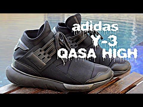 Adidas Y-3 Yohji Yamamoto Qasa High Review + On Feet