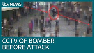 Court Shown Images Of Manchester Arena Bomber Just Seconds Before Attack | Itv News