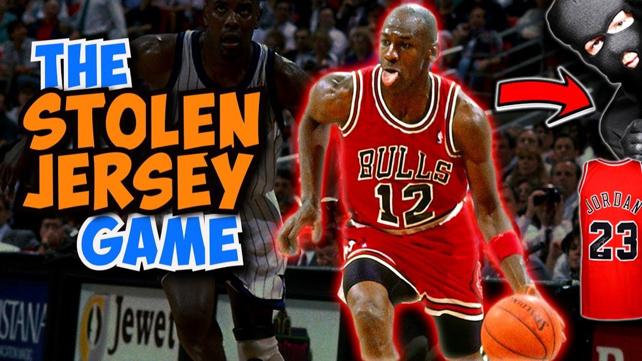 online retailer 1037b 122df The Time Michael Jordan's Game Jersey was STOLEN!