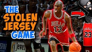 The Time Michael Jordan's Game Jersey was STOLEN!