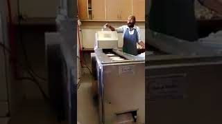 Automatic roti maker Rotimatic - How it works process