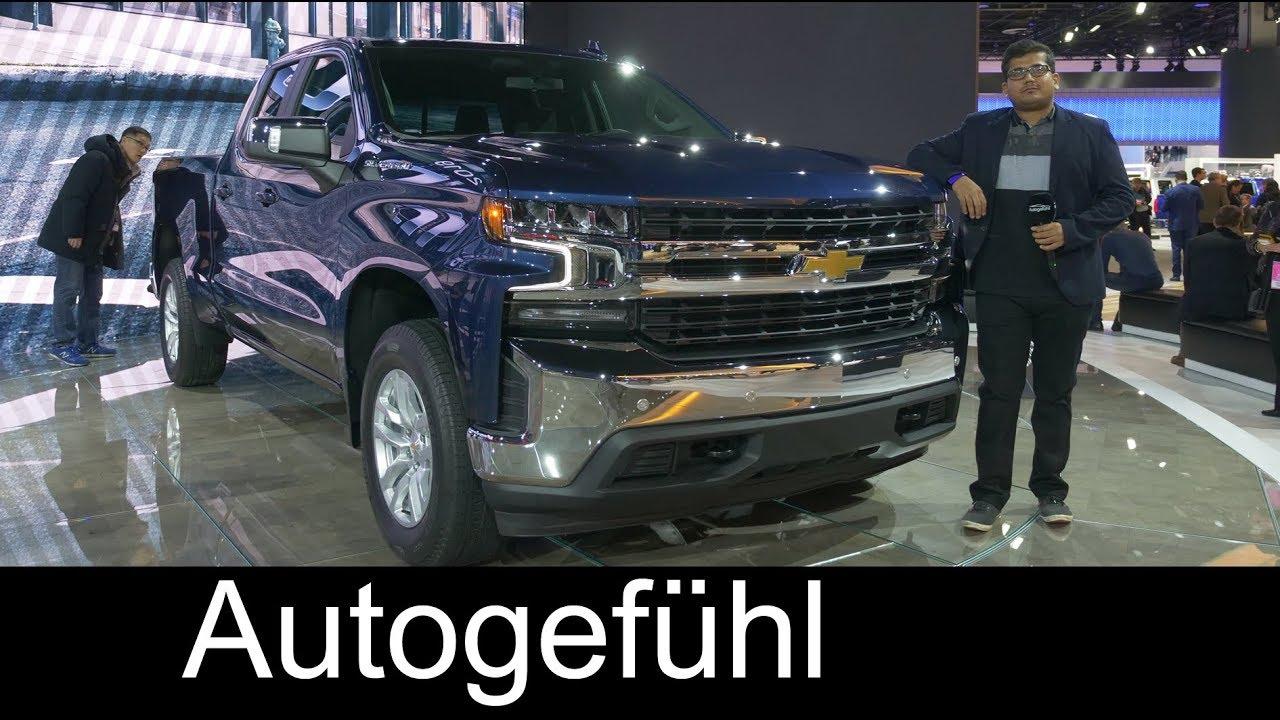 2019 Chevrolet Silverado REVIEW all-new - NAIAS 2018 - Autogefühl - Dauer: 12 Minuten
